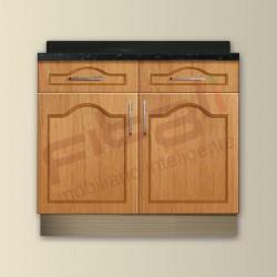Gabinete madera listonada G292T