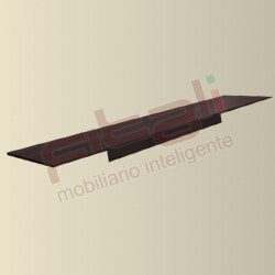 Maletero Genova con tubo MGC008