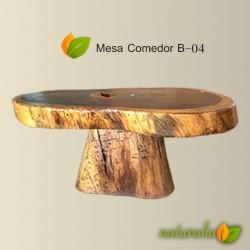 Mesa comedor de huanacaxtle B-04